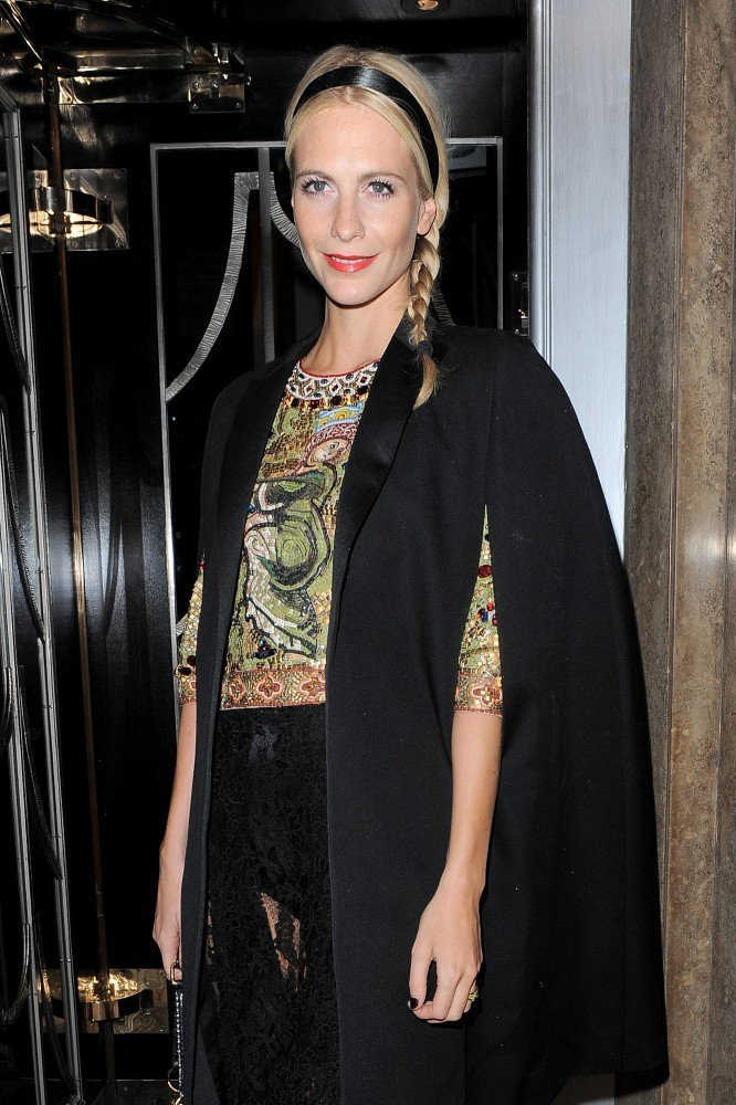Poppy Delevingne at Claridges