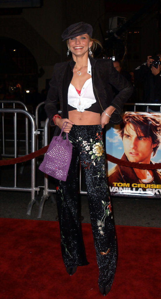 "LA PREMIERE OF ""VANILLA SKY"". .CHINESE THEATRE, HOLLYWOOD, CA. DECEMBER 10 2001."