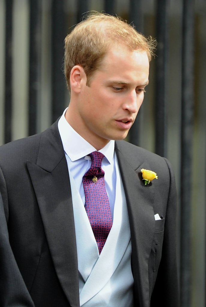 Prince William Short Straight Cut Prince William Hair