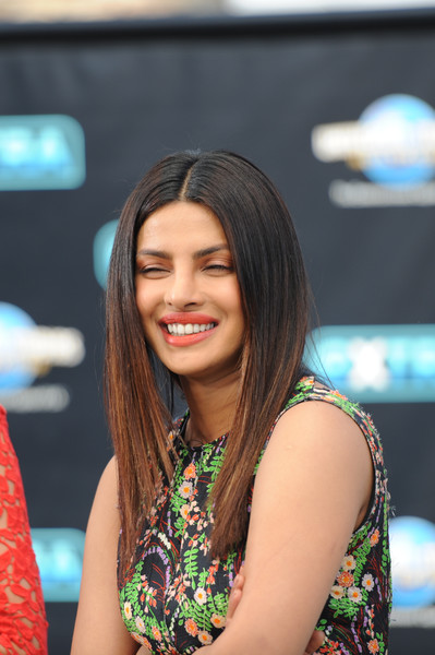 Priyanka Chopra Layered Cut