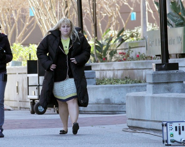 Rebel Wilson Shoots 'Pain and Gain'