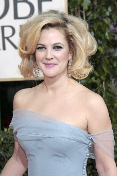 More Pics of Drew Barrymore Curled Out Bob (3 of 5) - Drew Barrymore Lookbook - StyleBistro
