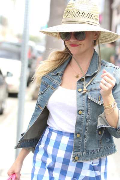 Reese Witherspoon Straw Hat []