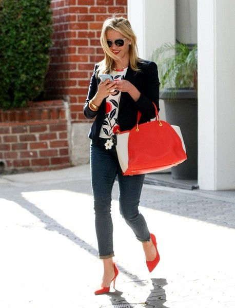 Reese Witherspoon Leather Tote