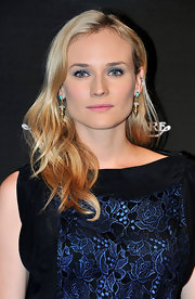 Diane Kruger styled her hair in soft curls at the Reverso 80th Anniversary.