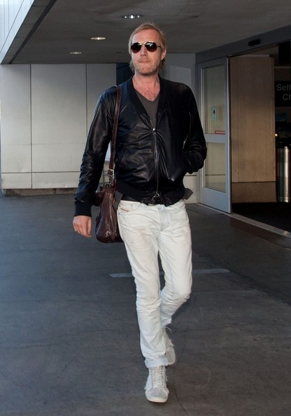 More Pics of Rhys Ifans Leather Jacket (1 of 8) - Rhys Ifans Lookbook - StyleBistro