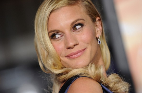 More Pics of Katee Sackhoff Pink Lipstick (1 of 18) - Pink Lipstick Lookbook - StyleBistro