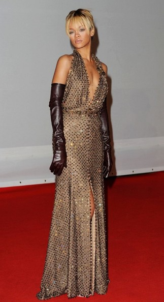 Rihanna Beaded Dress