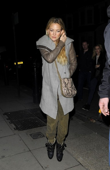 More Pics of Kate Hudson Wool Coat (2 of 3) - Outerwear Lookbook - StyleBistro []