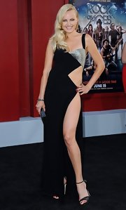 Malin Akerman took cutouts to a whole new level at the Hollywood premiere of 'Rock of Ages' wearing this daring number.