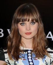 Bella Heathcote looked great with her soft waves down at the Rodeo Drive Walk of Style.