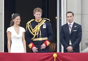 Prince Harry looked like Prince Charming at the Royal Wedding in a classic military ensemble.
