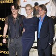 Amber Heard and Bruce Robinson