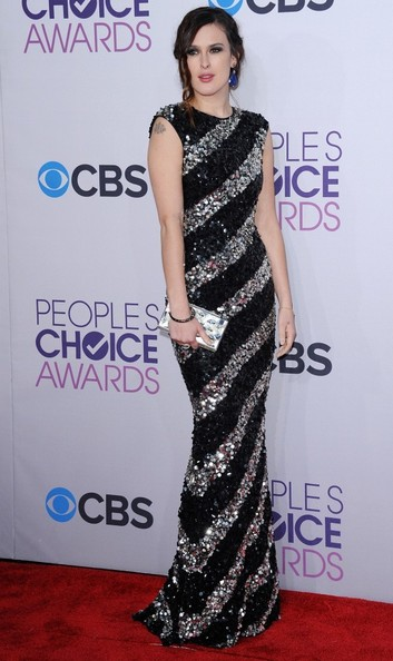 Rumer Willis Beaded Dress