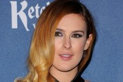 Rumer Willis Retro Hairstyle