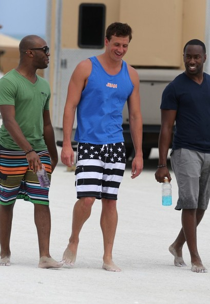 Ryan Lochte Films His Reality Show in Miami 3