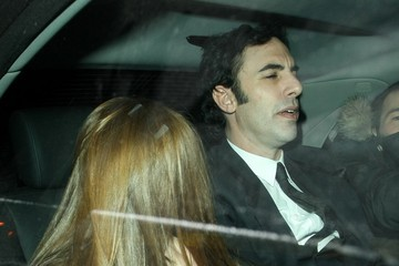 Sacha Baron Cohen Isla Fisher Sasha Baron Cohen and Isla Fisher Leave the Groucho Club