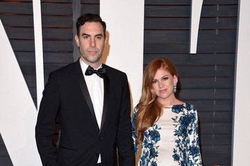 Sacha Baron Cohen Isla Fisher Stars at the Vanity Fair Oscar Party