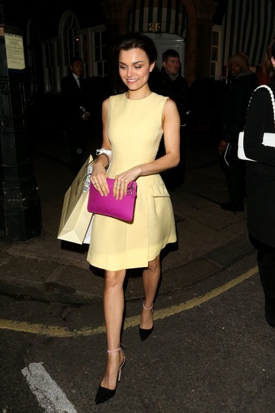 More Pics of Samantha Barks Cocktail Dress (1 of 18) - Samantha Barks Lookbook - StyleBistro