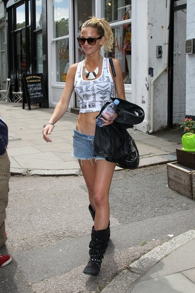 Sarah Harding Silver Statement Necklace