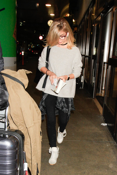 Sarah Hyland Basketball Sneakers