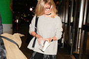 Sarah Hyland Boatneck Sweater