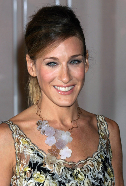 Sarah Jessica Parker Bronze Statement Necklace