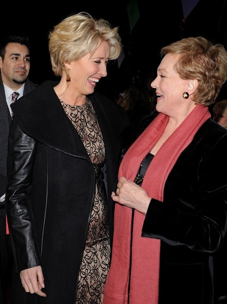 More Pics of Julie Andrews Short Side Part (3 of 27) - Short Hairstyles Lookbook - StyleBistro []