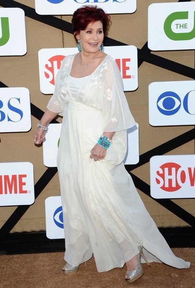 Sharon Osbourne Maternity Dress