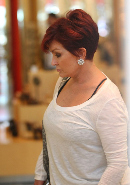 Sharon Osbourne Diamond Studs