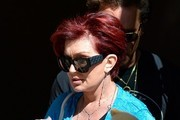 Sharon Osbourne Fitted Jacket