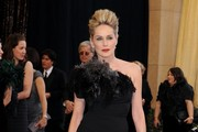Sharon Stone Channels 'Black Swan' at the Academy Awards