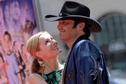 Robert Rodriguez and Leslie Mann Photo