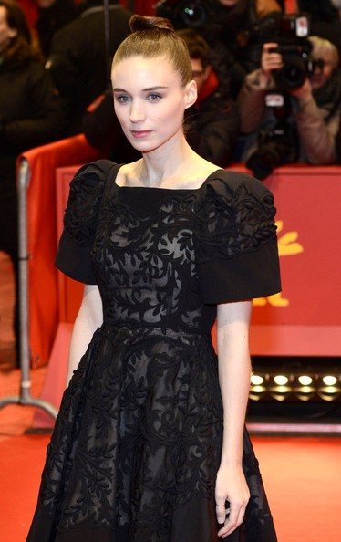 More Pics of Rooney Mara Hair Knot (2 of 6) - Updos Lookbook - StyleBistro