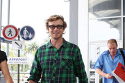 Simon Baker Button Down Shirt