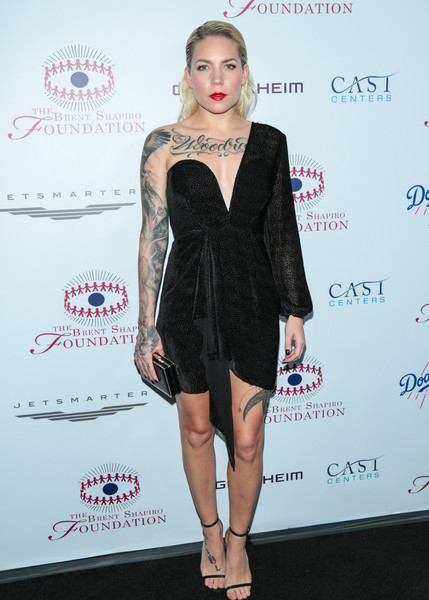 Skylar Grey One Shoulder Dress