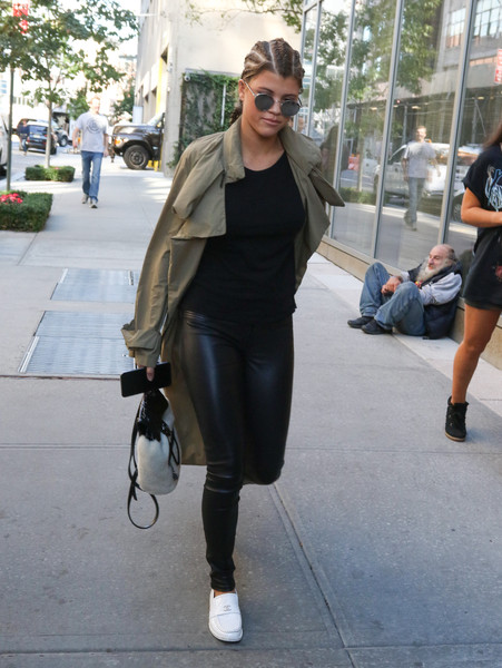 Sofia Richie Trenchcoat