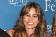 Sofia Vergara Long Wavy Cut with Bangs