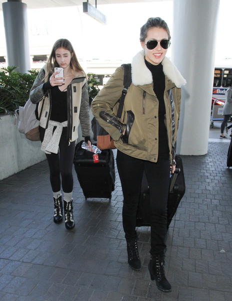 Sophia Stallone Lace Up Boots []