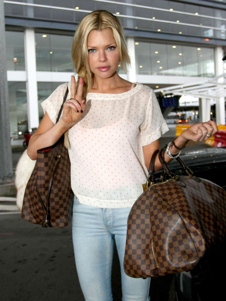 More Pics of Sophie Monk Long Braided Hairstyle (1 of 3) - Long Hairstyles Lookbook - StyleBistro []