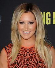 Ashley Tisdale opted for a nude lip to match her natural glowing skin at the 'Spring Breakers' premiere.