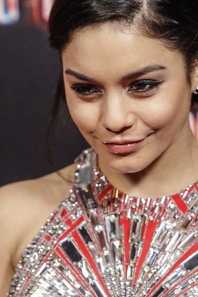 More Pics of Vanessa Hudgens Beaded Dress (1 of 10) - Vanessa Hudgens Lookbook - StyleBistro