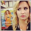 Demi Lovato Scopes Out Her Cosmo Cover