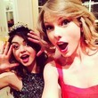 Taylor Swift and Lucy Hale Ring in the New Year