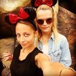 Nicole Richie Debuts Some New Glitzy Ears at Disneyland