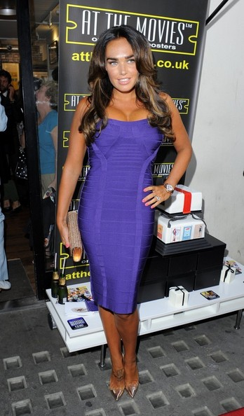 Tamara Ecclestone Bandage Dress