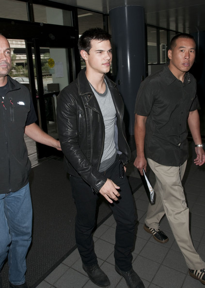 Taylor Lautner Motorcycle Jacket []