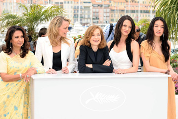 Isabelle Huppert Asia Argento The Cannes Jury is in
