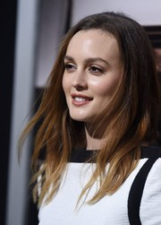 Leighton Meester chose to wear her hair loose with subtle, piecey waves during the premiere of 'The Judge.'