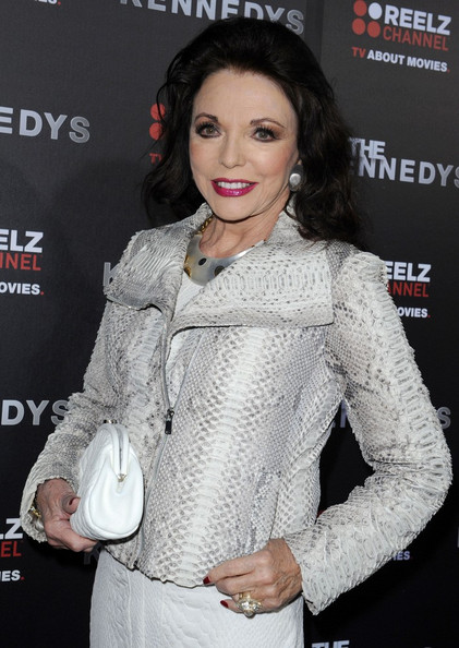 More Pics of Joan Collins Leather Jacket (1 of 4) - Joan Collins Lookbook - StyleBistro